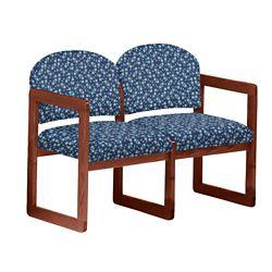 Premium Upholstered Two-Seat Sofa