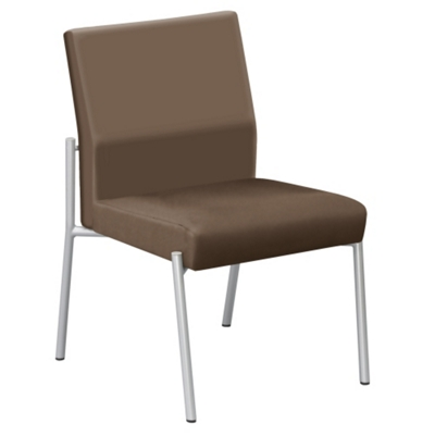 Uptown Armless Guest Chair in Premium Upholstery