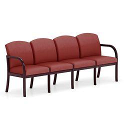 Four Seat Vinyl Sofa