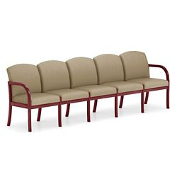 Five Seat Vinyl Sofa