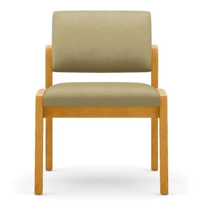 New Castle Vinyl Armless Guest Chair