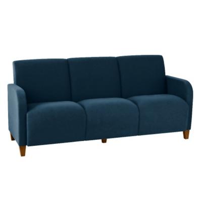 Antimicrobial Vinyl Three Seat Sofa