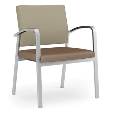 400 lb. Capacity Designer Guest Chair with Vinyl Seat