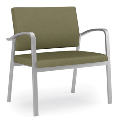 750 lb. Capacity Solid Fabric Bariatric Guest Chair
