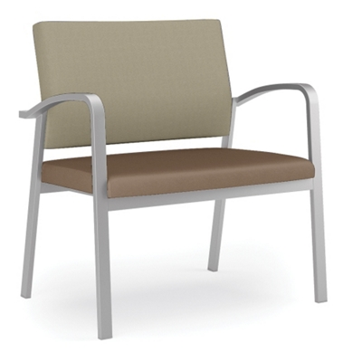750 lb. Capacity Bariatric Guest Chair with Antimicrobial Vinyl Seat