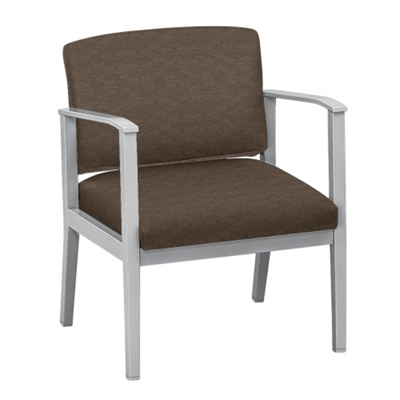 Mason Street Oversized Fabric Guest Chair with Arms