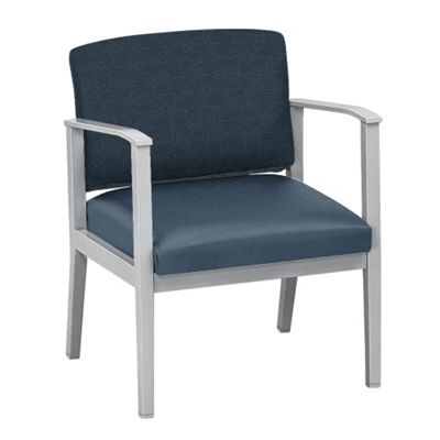 Mason Street Fabric and Polyurethane Oversized Guest Chair with Arms