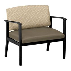 Mason Street Fabric or Polyurethane Bariatric Chair