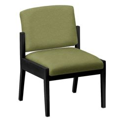 Mason Street Fabric Guest Chair without Arms