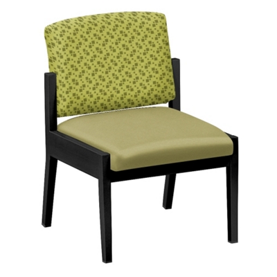 Mason Street Fabric or Polyurethane Guest Chair without Arms