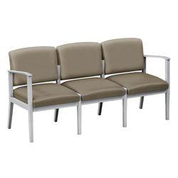 Mason Street Polyurethane Three-Seat Sofa