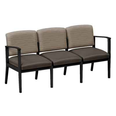 Mason Street Fabric and Polyurethane Three Seat Sofa