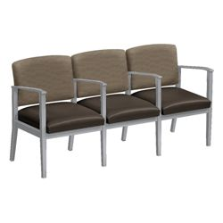 Mason Street Three Seater with Center Arms