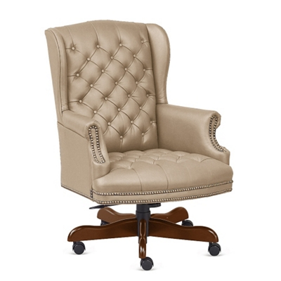 Monroe Faux Leather Wing Back Executive Chair