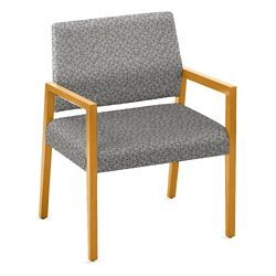 """Oversized Fabric Guest Chair - 26.5""""W x 23.5""""D"""