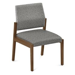 "Armless Fabric Guest Chair - 22.5""W x 23.5""D"