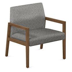 "Fabric Lounge Chair - 27""W x 28.5""D"