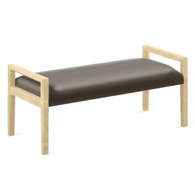 "Polyurethane Two Seat Bench - 48""W x 20.5""D"