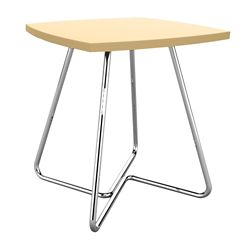 """Square Angled Base End Table 24""""W x 24""""D x 22""""H"""