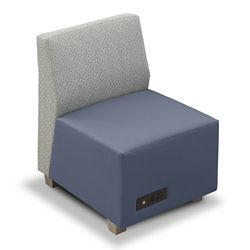 Compass Armless Lounge Chair