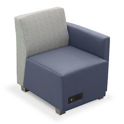 Compass Lounge Chair with Left Arm