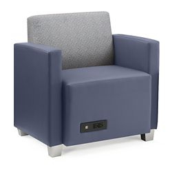 Compass Lounge Chair with Arms