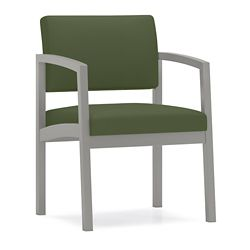 Designer Fabric Guest Chair with Steel Frame