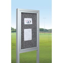 "48""W x 48""H Outdoor Board with Posts"