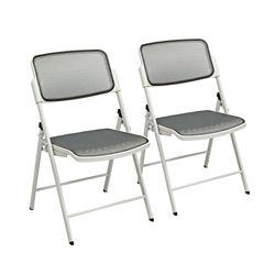 Mesh Folding Chair Set of 2