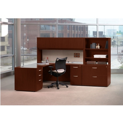 Complete L-Desk Office Set