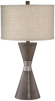 Tl-Two Cone Poly Table Lamp