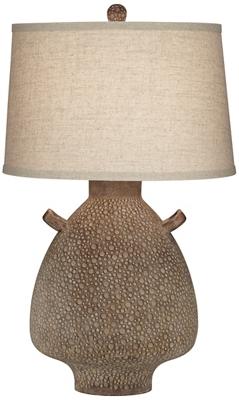 "Tl-30""Ht Terracota Table Lamp"