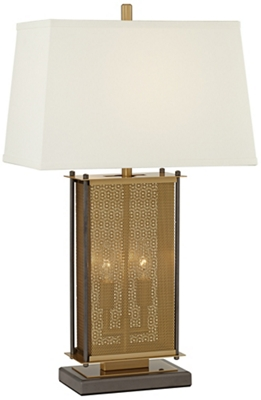 Perforated Cage Table Lamp