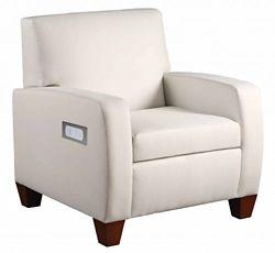 Powered Vinyl Club Chair