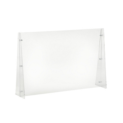 "Protective Acrylic Sneeze Guard- 32""W x 24""H"