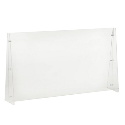 "Protective Acrylic Sneeze Guard- 42""W x 32""H"