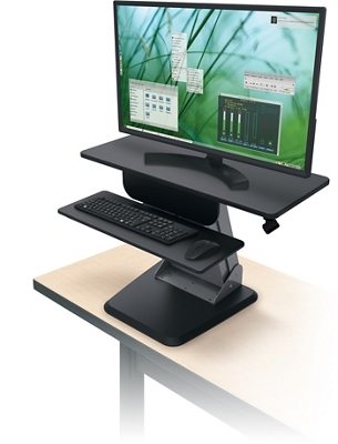 Desktop Sit to Stand Station