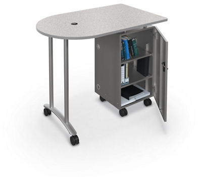 "Mobile Teacher Workstation - 48""W"