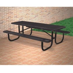8' Wide Rectangular Outdoor Table