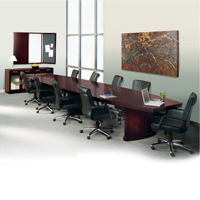 Transitional 18 Conference Table with Fourteen Chairs - 45047 and more Lifetime Guarantee  sc 1 st  National Business Furniture & Transitional 18 Conference Table with Fourteen Chairs - 45047 and ...