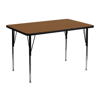 "Activity Table - 30""W x 48""D"