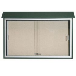 "Sliding Door Outdoor Message Center - 45""W x 30""H"