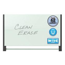 "81""W x 49""H Glass Dry Erase Board"