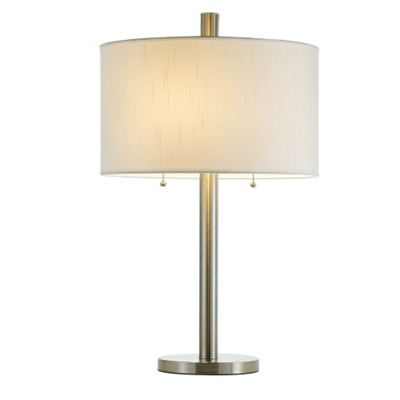 Table Lamp With Two Pull Chains