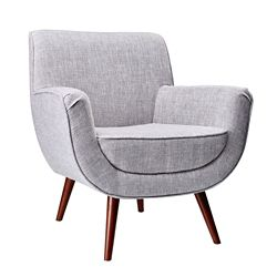 Cormac Wood Leg Guest Chair in Fabric