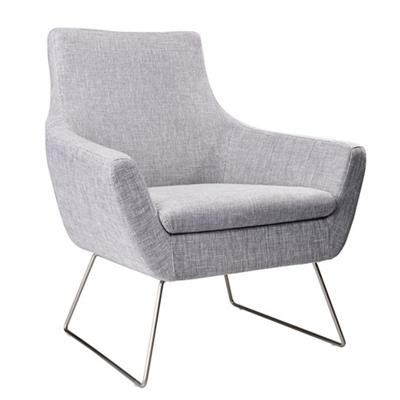 Kendrick Steel Leg Guest Chair in Fabric