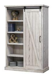 "Bookcase with Sliding Door - 72""H"