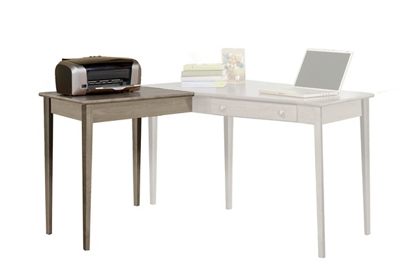 """Solid Wood Right Return for Writing Desk - 28.5""""W"""