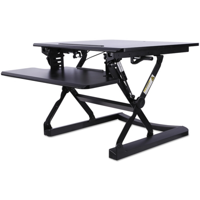 "Sit Stand Lifting Workstation, 30""W"