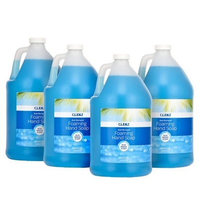 Foam Anti Bacterial Soap - Four Pack